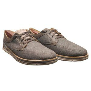 Skechers GoGolf gray shoes leather/textile upper
